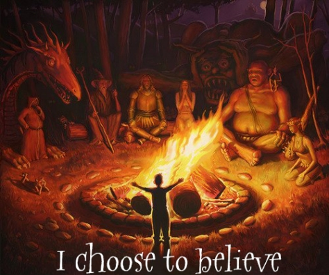 I choose to believe