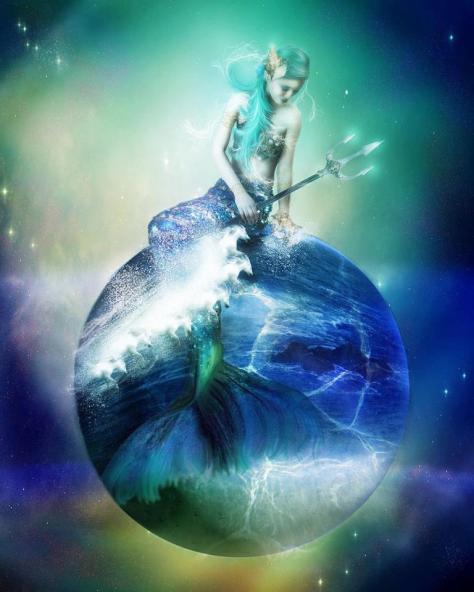 mermaid eartyh