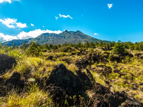 Starting afresh in a volcanic crater/valley.  The energy of Gaia raw, primal and strong.